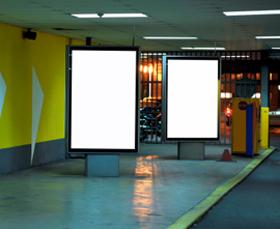 Blank adverts