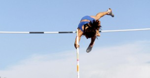 High jump and pole vault