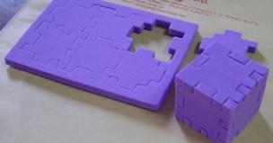 Cube Puzzle teaching resource