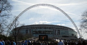 On the way to Wembley