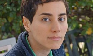 Five female mathematicians Maryam Mirzakhani