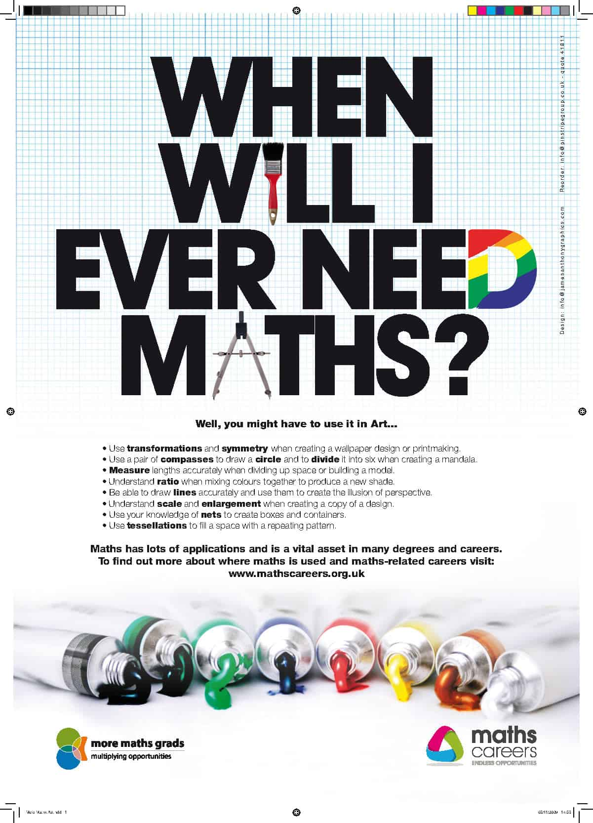 Posters And Resources From Maths In A Box Maths Careers