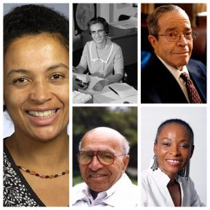 Five famous black mathematicians