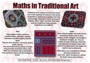 traditional art maths