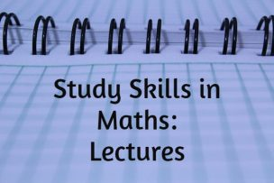 Study Skills – Lectures